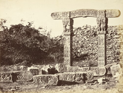 Torana or gateway of small tope at Sanchi